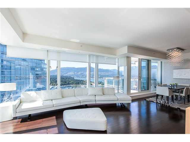 Main Photo: 4305 1011 W CORDOVA Street in Vancouver: Coal Harbour Condo for sale (Vancouver West)  : MLS®# V1136896