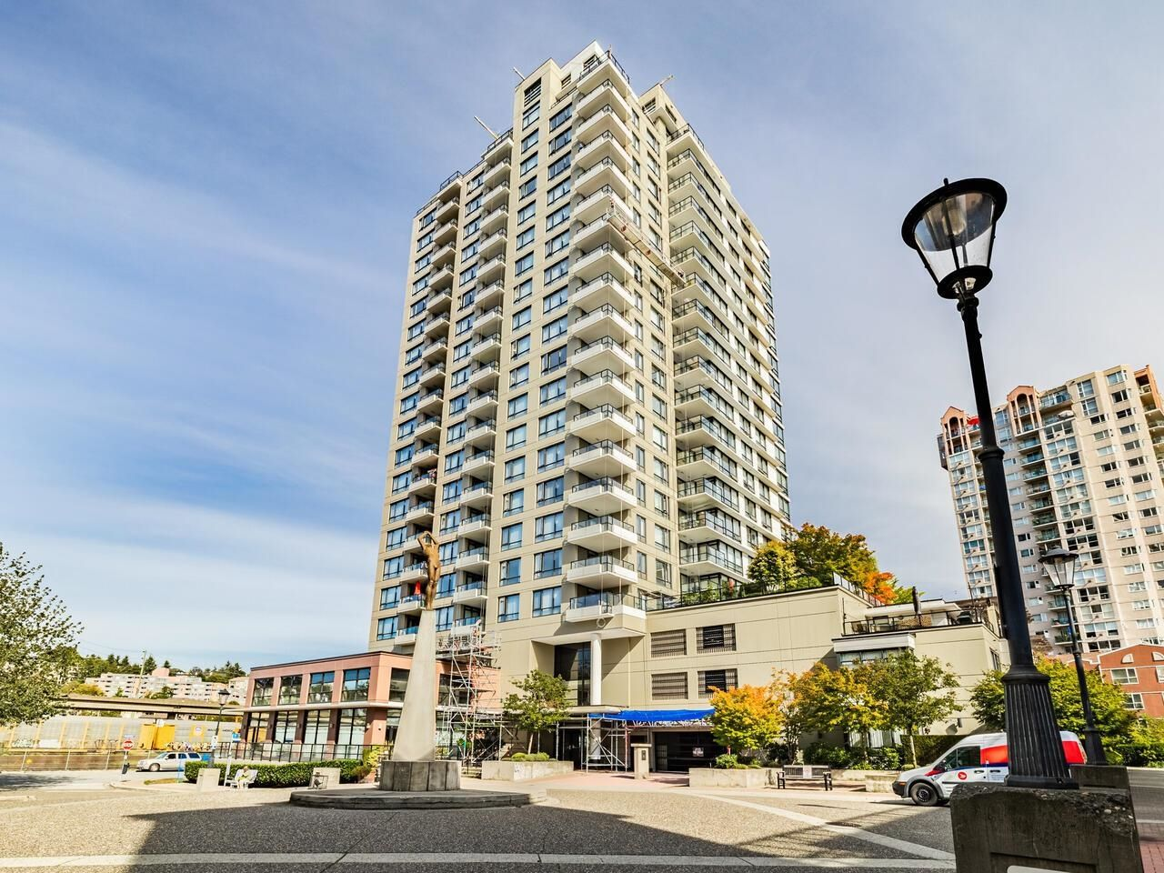 Main Photo: 705 1 RENAISSANCE Square in New Westminster: Quay Condo for sale : MLS®# R2619244