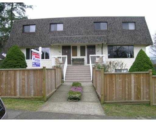 Main Photo: 145 GRANT Street in Port_Moody: Port Moody Centre Duplex for sale (Port Moody)  : MLS®# V693024