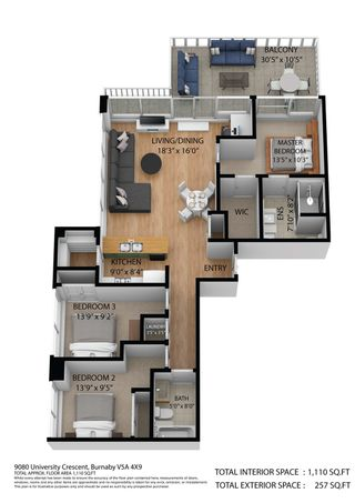 "Photo 40: 1201 9080 UNIVERSITY Crescent in Burnaby: Simon Fraser Univer. Condo for sale in ""ALTITUDE"" (Burnaby North)  : MLS®# R2607359"
