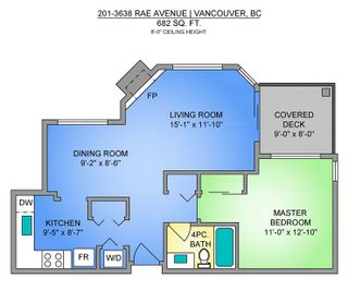 """Photo 23: 201 3638 RAE Avenue in Vancouver: Collingwood VE Condo for sale in """"RAINTREE GARDENS"""" (Vancouver East)  : MLS®# R2537788"""