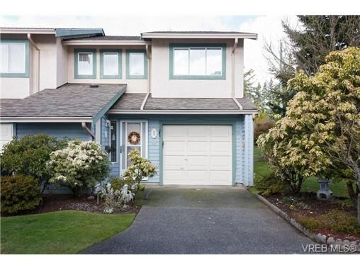 Main Photo: 1 515 Mount View Ave in VICTORIA: Co Hatley Park Row/Townhouse for sale (Colwood)  : MLS®# 664892