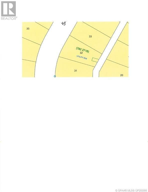 Main Photo: 4326 54 Street in Grimshaw: Vacant Land for sale : MLS®# GP205998