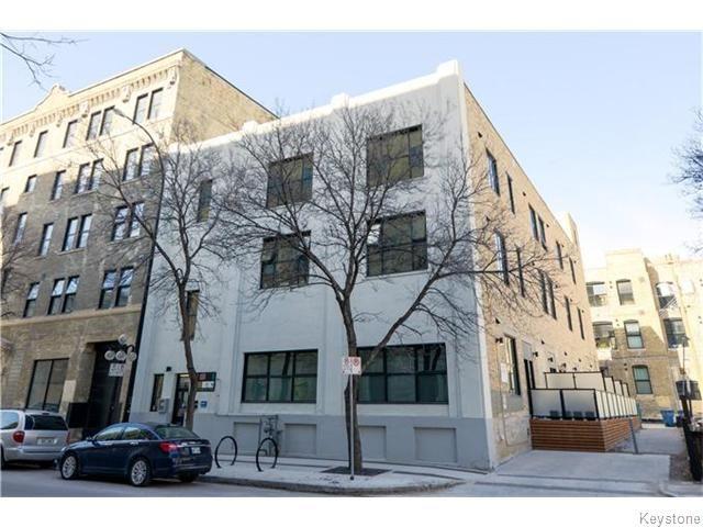 Main Photo: 133 Market Avenue in Winnipeg: Central Winnipeg Condominium for sale : MLS®# 1609413