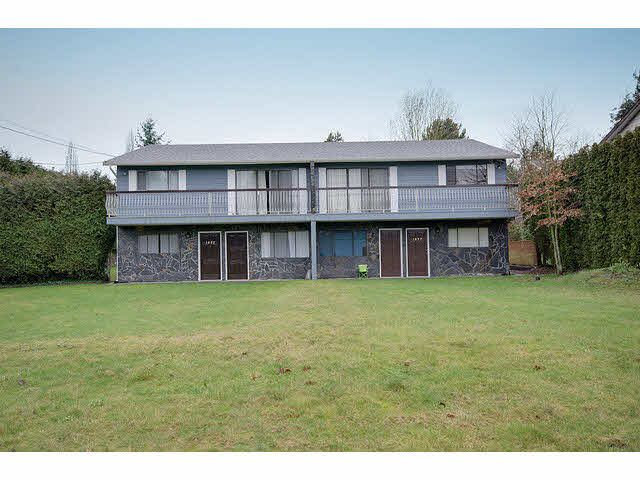 Photo 1: Photos: 1837 KING GEORGE Boulevard in Surrey: King George Corridor 1/2 Duplex for sale (South Surrey White Rock)  : MLS®# F1430326