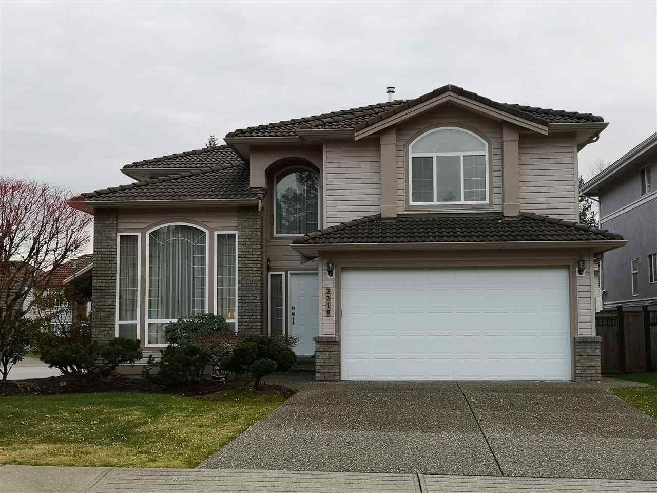 Main Photo: 3310 RAKANNA Place in Coquitlam: Hockaday House for sale : MLS®# R2438286