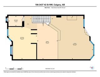 Photo 28: 186 3437 42 Street NW in Calgary: Varsity Row/Townhouse for sale : MLS®# A1070340