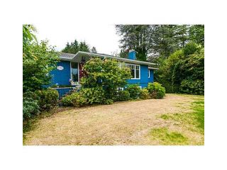 Photo 1: 1751 MATHERS AV in West Vancouver: Ambleside House for sale : MLS®# V1105546
