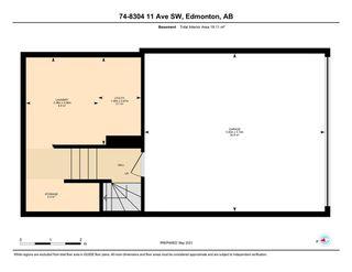 Photo 50: 75 8304 11 Avenue in Edmonton: Zone 53 Townhouse for sale : MLS®# E4241990