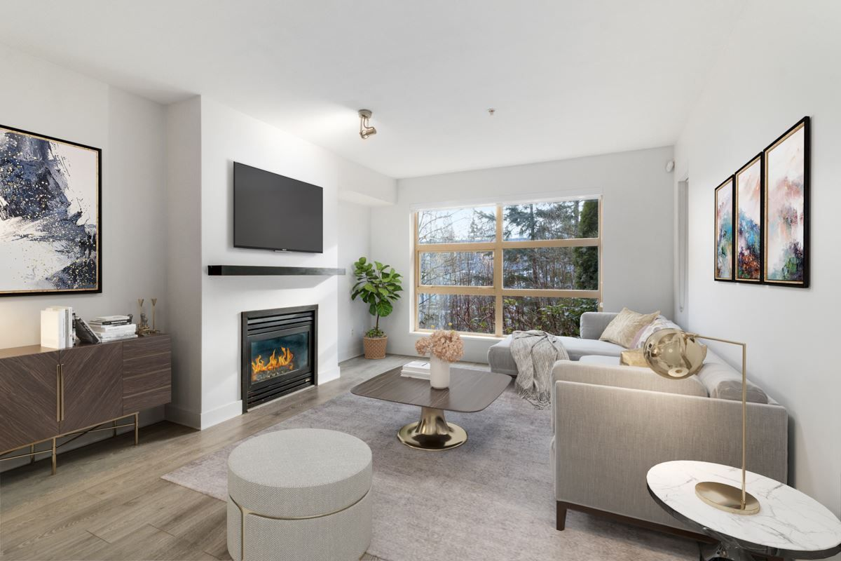 """Main Photo: 304 9339 UNIVERSITY Crescent in Burnaby: Simon Fraser Univer. Condo for sale in """"HARMONY AT THE HIGHLANDS"""" (Burnaby North)  : MLS®# R2557158"""
