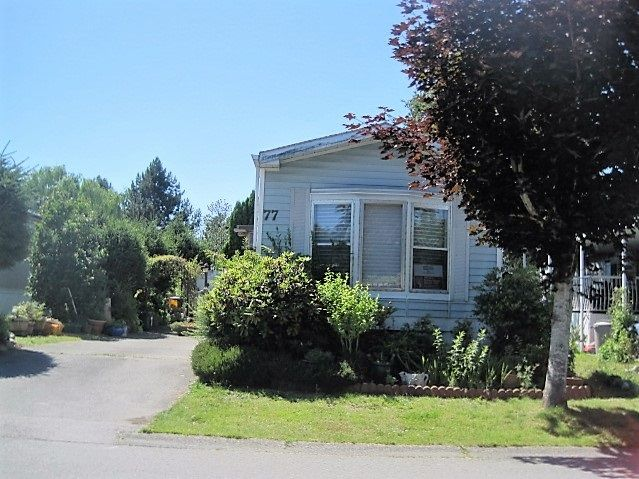 Main Photo: 77 145 KING EDWARD STREET in Coquitlam: Cape Horn Manufactured Home for sale : MLS®# R2085950