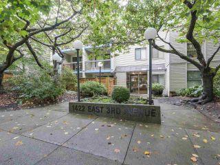 """Photo 1: 308 1422 E 3RD Avenue in Vancouver: Grandview VE Condo for sale in """"La Contessa"""" (Vancouver East)  : MLS®# R2304077"""