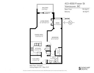 """Photo 19: 413 4550 FRASER Street in Vancouver: Fraser VE Condo for sale in """"CENTURY"""" (Vancouver East)  : MLS®# R2186913"""