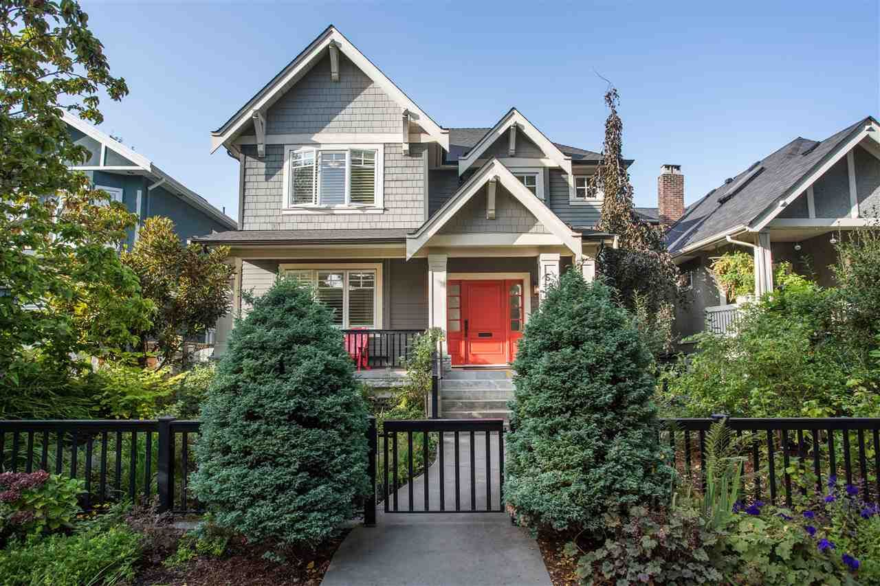 Main Photo: 595 W 18TH AVENUE in Vancouver: Cambie House for sale (Vancouver West)  : MLS®# R2499462