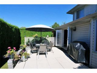 """Photo 15: 31 12268 189A Street in Pitt Meadows: Central Meadows Townhouse for sale in """"MEADOW LANE ESATES"""" : MLS®# V1094613"""