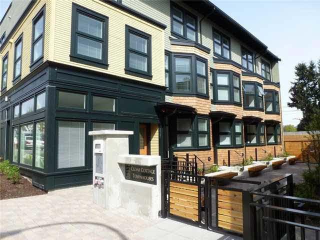 Main Photo: 1777 E 20TH AVENUE in : Victoria VE Townhouse for sale : MLS®# V1005113