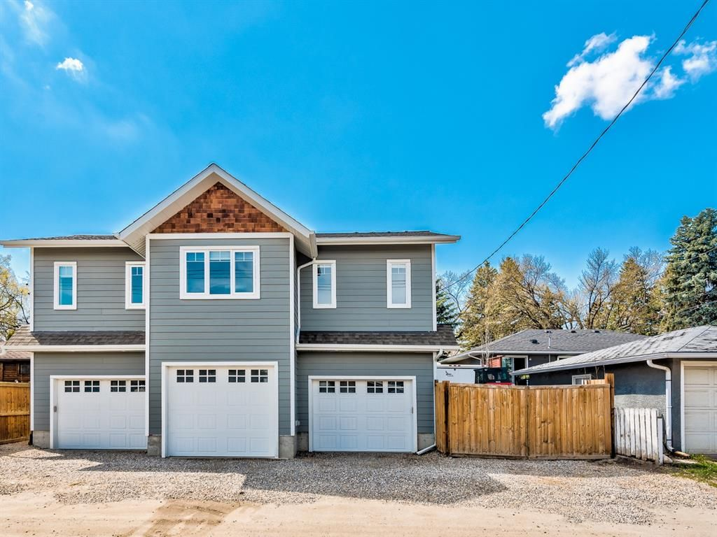 Triple Car Garage + Carriage Suite with 2 Large Bedrooms.