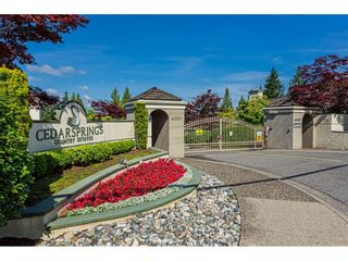 "Photo 40: 18 4001 OLD CLAYBURN Road in Abbotsford: Abbotsford East Townhouse for sale in ""Cedar Springs"" : MLS®# R2469026"