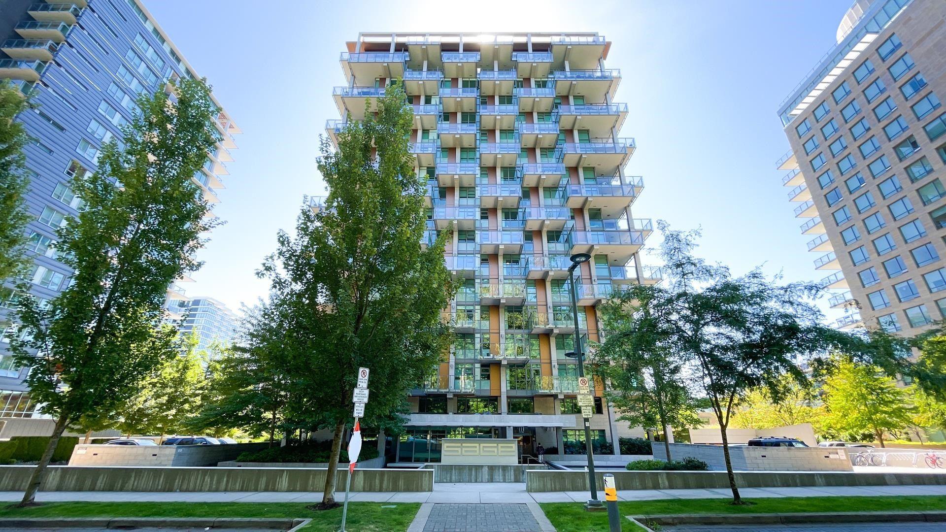 "Main Photo: 1706 5782 BERTON Avenue in Vancouver: University VW Condo for sale in ""Sage"" (Vancouver West)  : MLS®# R2610274"