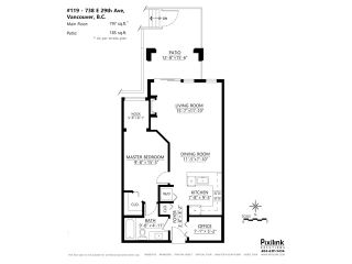 """Photo 20: 119 738 E 29TH Avenue in Vancouver: Fraser VE Condo for sale in """"CENTURY"""" (Vancouver East)  : MLS®# V1074241"""