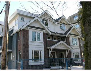 Photo 1: 2862 SPRUCE Street in Vancouver: Fairview VW Townhouse for sale (Vancouver West)  : MLS®# V679716