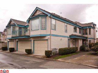 """Photo 1: 24 15840 84TH Avenue in Surrey: Fleetwood Tynehead Townhouse for sale in """"Fleetwood Gables"""" : MLS®# F1110783"""