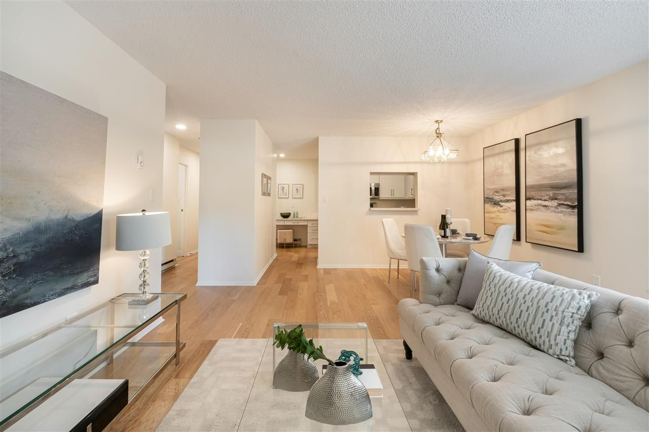 """Main Photo: 105 1845 W 7TH Avenue in Vancouver: Kitsilano Condo for sale in """"Heritage At Cypress"""" (Vancouver West)  : MLS®# R2591030"""