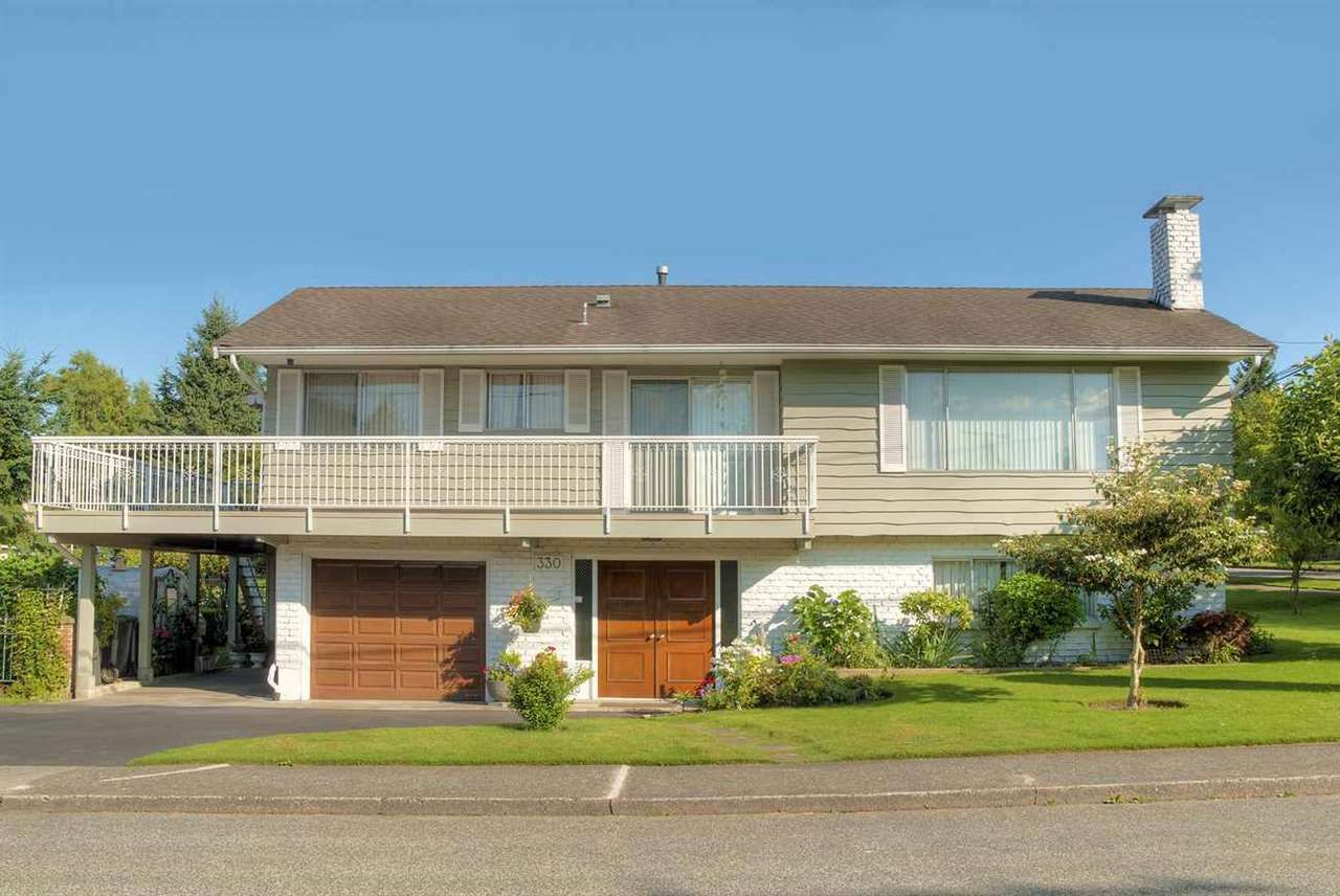 Main Photo: 330 NINTH AVENUE in New Westminster: GlenBrooke North House for sale : MLS®# R2284273