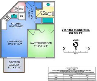 Photo 9: 215 1450 Tunner Dr in COURTENAY: CV Courtenay East Condo for sale (Comox Valley)  : MLS®# 844147