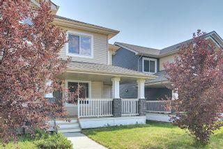 Photo 1: 17617 10 Avenue SW in Edmonton: Zone 56 Attached Home for sale : MLS®# E4262399