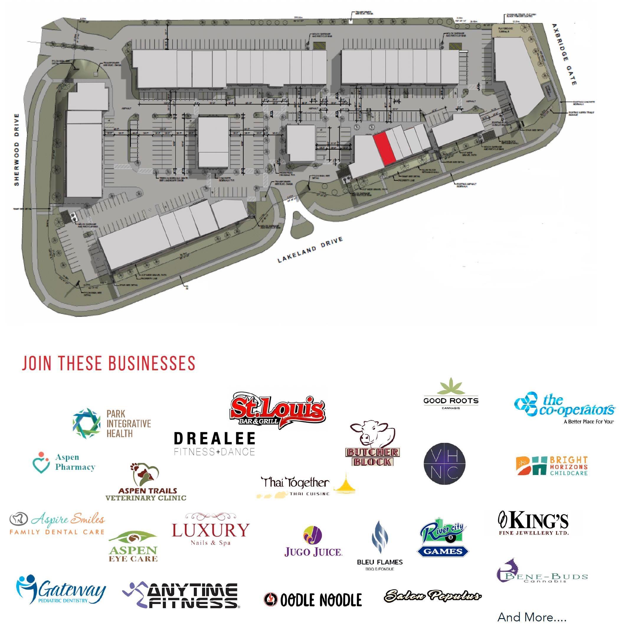 Main Photo: 520 3850 Sherwood Drive NW: Sherwood Park Retail for lease : MLS®# E4265369