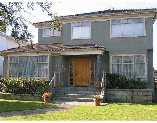 "Main Photo: 468 W 38TH AV in Vancouver: Cambie House for sale in ""OAKRIDGE"" (Vancouver West)  : MLS®# V563075"