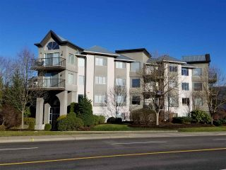 """Photo 1: 102 32725 GEORGE FERGUSON Way in Abbotsford: Abbotsford West Condo for sale in """"Uptown"""" : MLS®# R2226698"""