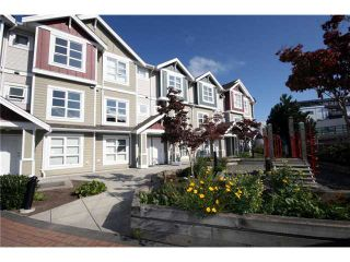"""Photo 1: 9 13028 NO 2 Road in Richmond: Steveston South Townhouse for sale in """"Water Side Village"""" : MLS®# V915444"""