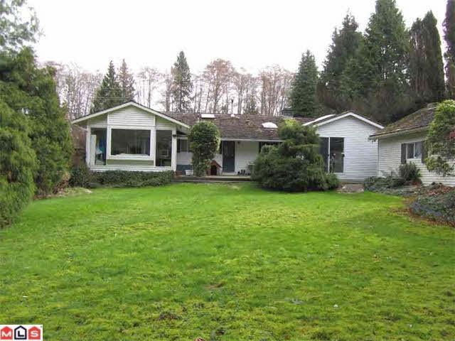 Main Photo: 3063 160TH STREET in : Grandview Surrey House for sale : MLS®# F1206927