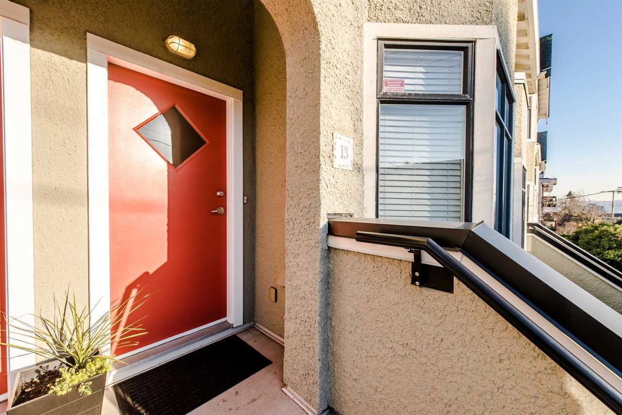 """Main Photo: 13 221 ASH Street in New Westminster: Uptown NW Townhouse for sale in """"PENNY LANE"""" : MLS®# R2018098"""