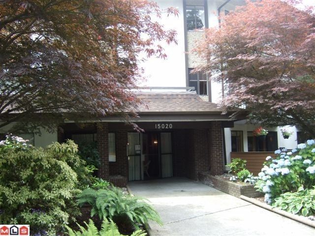 "Main Photo: 116 15020 N BLUFF Road: White Rock Condo for sale in ""North Bluff Village"" (South Surrey White Rock)  : MLS®# F1100801"