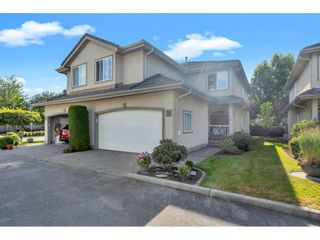 "Photo 1: 10 998 RIVERSIDE Drive in Port Coquitlam: Riverwood Townhouse for sale in ""PARKSIDE PLACE"" : MLS®# R2483696"