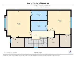 Photo 44: 1309 162 Street in Edmonton: Zone 56 House Half Duplex for sale : MLS®# E4248311