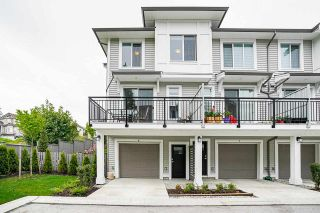 """Photo 1: 8 9688 162A Street in Surrey: Fleetwood Tynehead Townhouse for sale in """"CANOPY LIVING"""" : MLS®# R2573891"""