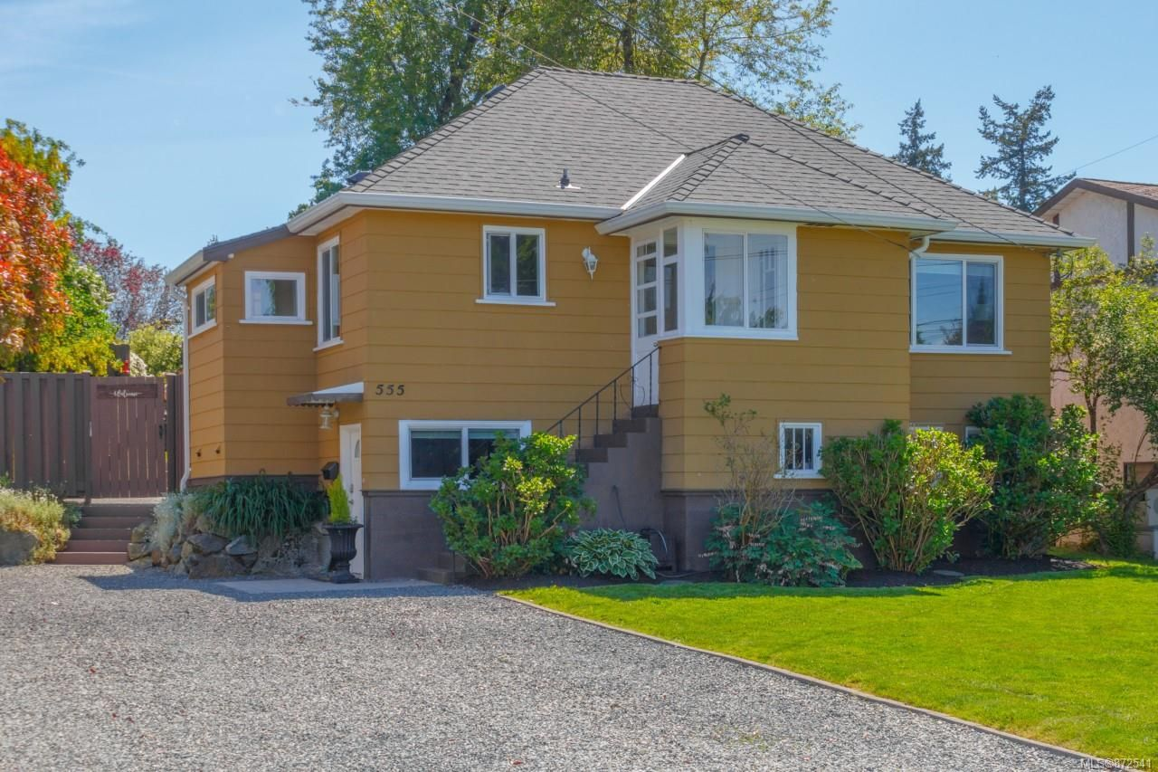 Main Photo: 555 Kenneth St in : SW Glanford House for sale (Saanich West)  : MLS®# 872541
