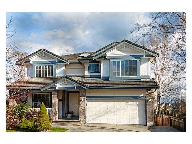 "Main Photo: 18 LINDEN Court in Port Moody: Heritage Woods PM House for sale in ""HERITAGE WOODS/MTN"" : MLS®# V993211"
