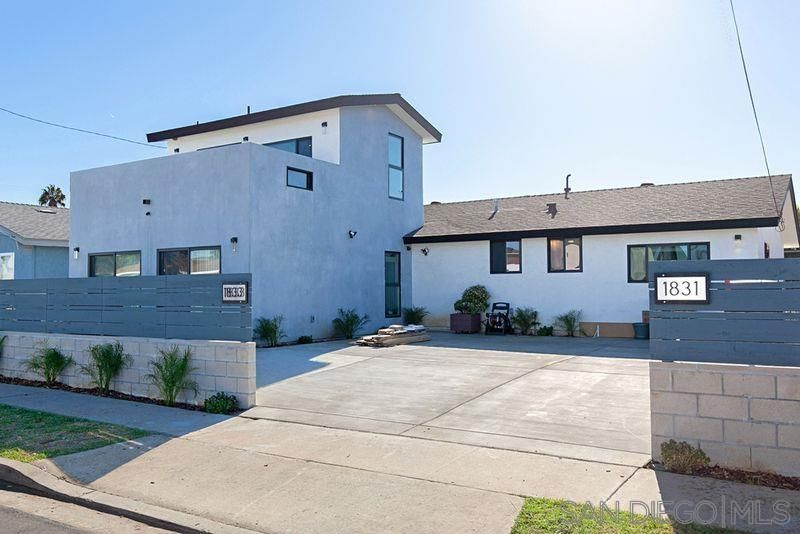 Main Photo: SOUTH SD House for sale : 5 bedrooms : 1831-1833 Hermes St in San Diego