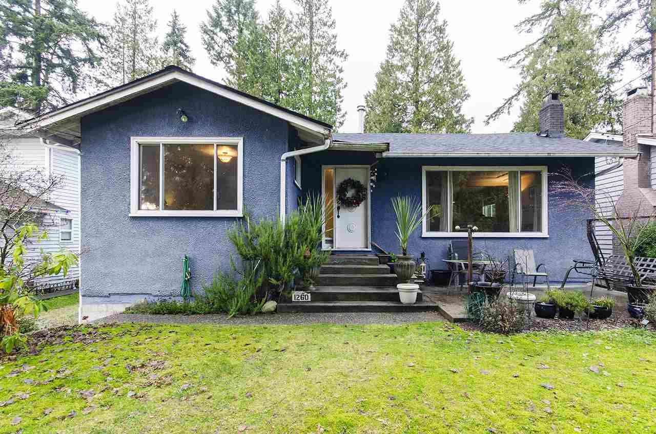 Main Photo: 1260 PLATEAU Drive in North Vancouver: Pemberton Heights House for sale : MLS®# R2523433