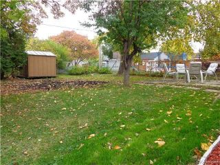Photo 13: 449 Seaton Street in Winnipeg: Westwood Residential for sale (5G)  : MLS®# 1726334
