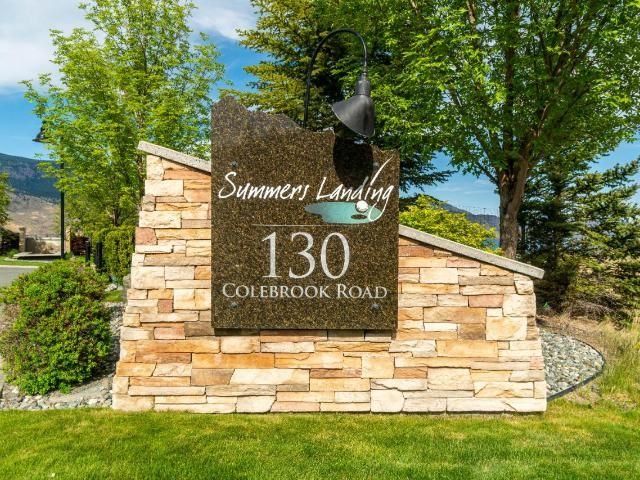 Main Photo: 48 130 COLEBROOK ROAD in Kamloops: Tobiano Townhouse for sale : MLS®# 162166