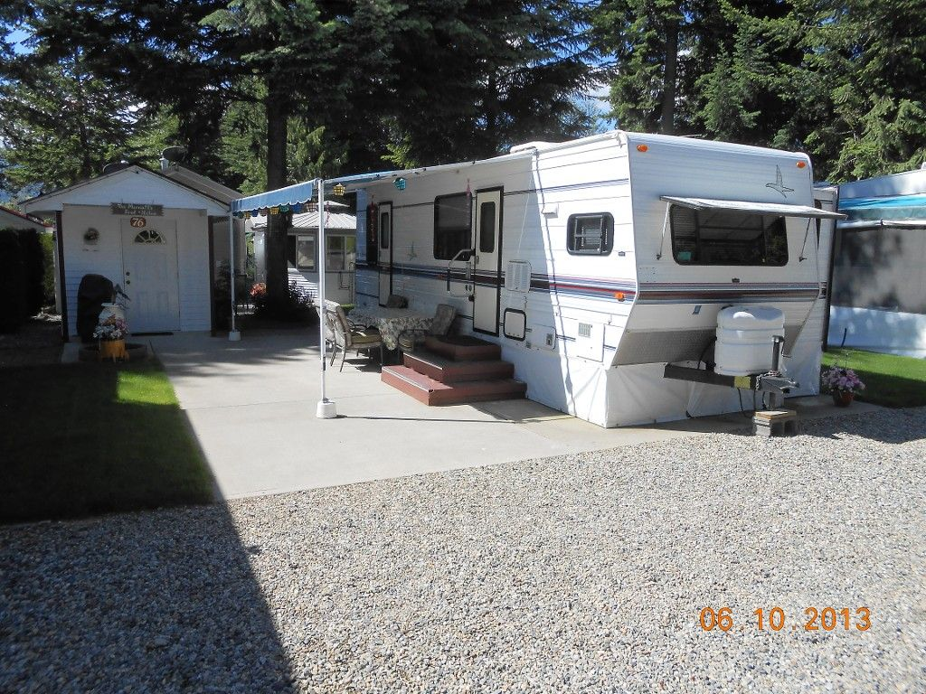 Main Photo: 76 3980 Squilax Anglemont Road in Scotch Creek: Recreational for sale : MLS®# 10066701