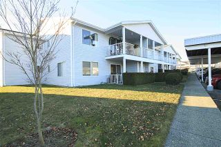 """Photo 1: 218 32691 GARIBALDI Drive in Abbotsford: Abbotsford West Townhouse for sale in """"CARRIAGE LANE"""" : MLS®# R2127583"""
