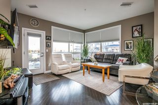 Photo 1: 210 405 Cartwright Street in Saskatoon: The Willows Residential for sale : MLS®# SK870739