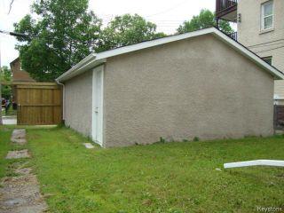Photo 17: 532 MARYLAND Street in WINNIPEG: West End / Wolseley Residential for sale (West Winnipeg)  : MLS®# 1314916